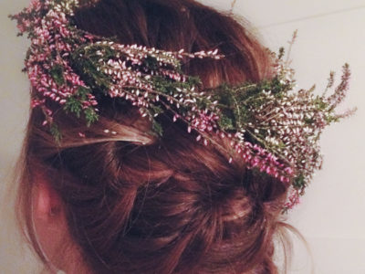 DIY Floral Crowns- so simple anyone could do it!