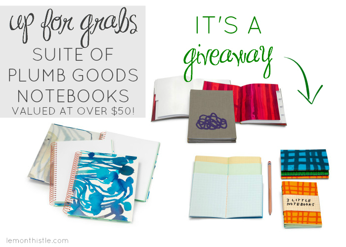 Notebook Givaway!