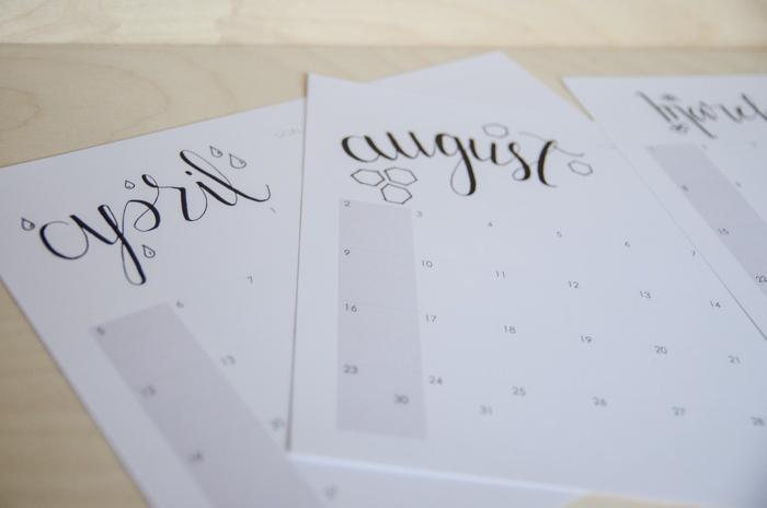 Free Printable Calendar for 2015