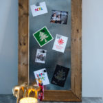 DIY Magnetic Memo Board (and Christmas Card Holder!)