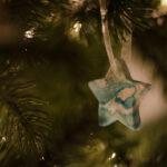 DIY Marbled Ornaments (3 Ways)