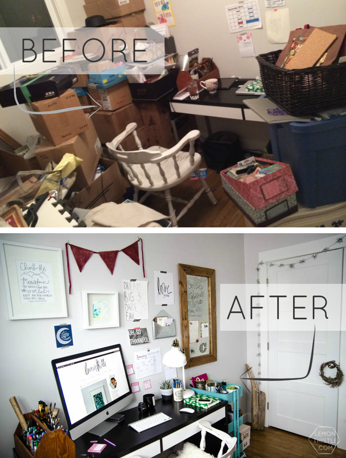 Before and After- Office Progress, Practical Tips to create a workspace that inspires you