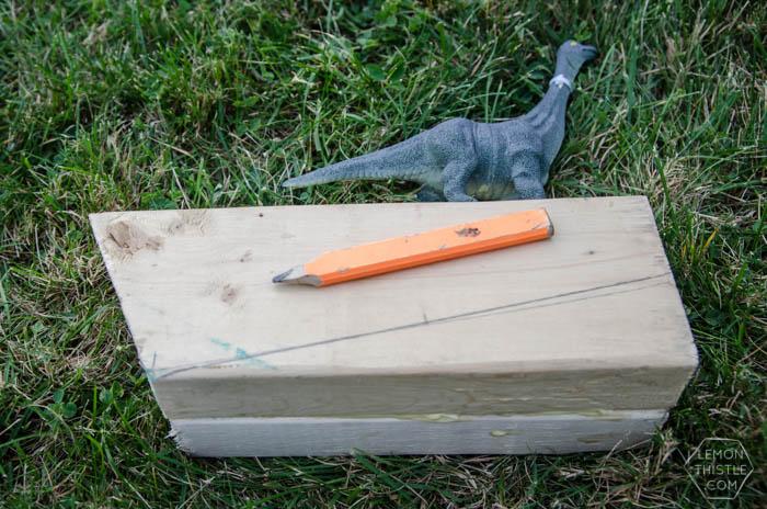 DIY Dinosaur Door Stop- An Anthropologie Knock Off!