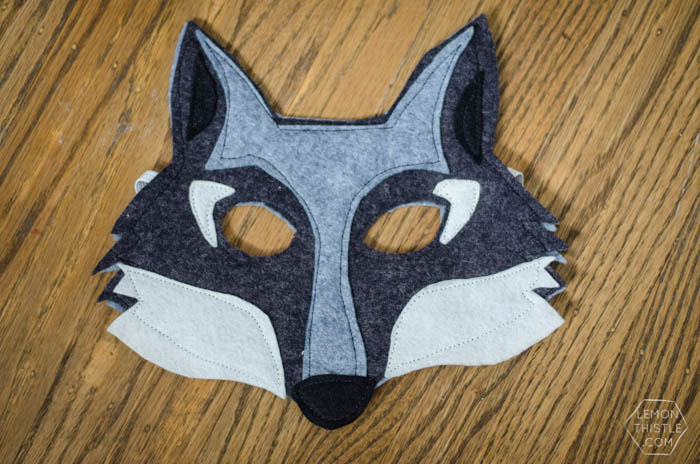 DIY Felt Animal Masks- 6 Free Printable Templates