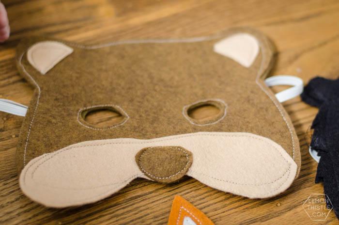 I love these DIY Felt Masks- 6 Free Printable Templates!