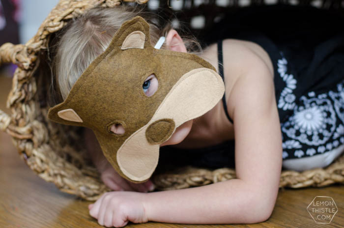 DIY Felt Animal Masks