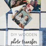 DIY Wooden Photo Memory