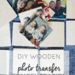 DIY Wooden Photo Memory
