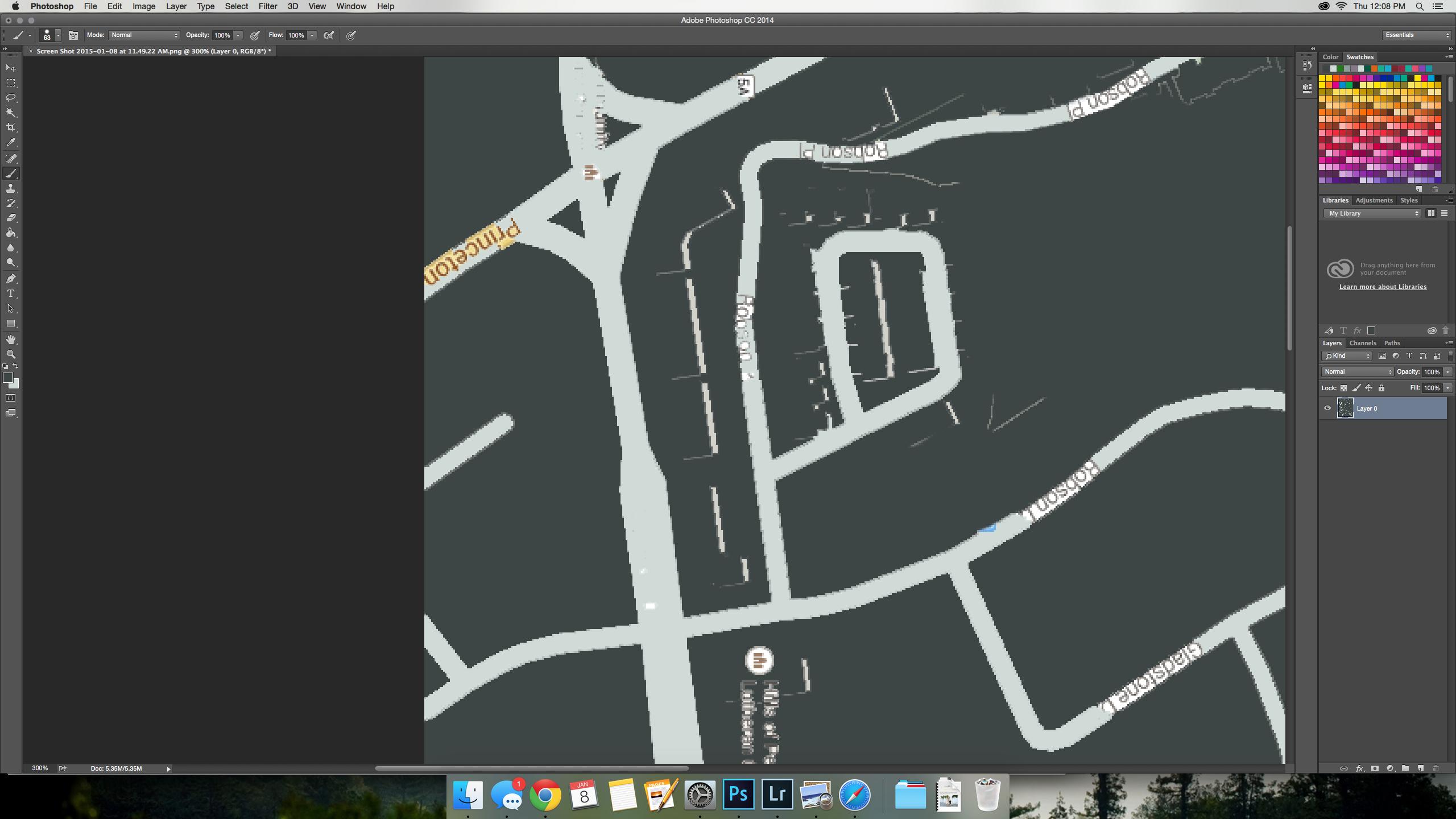 DIY Custom Street Map Wall Art (A Step By Step Tutorial!)