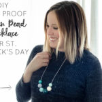 DIY Pinch Proof Wooden Bead Necklace