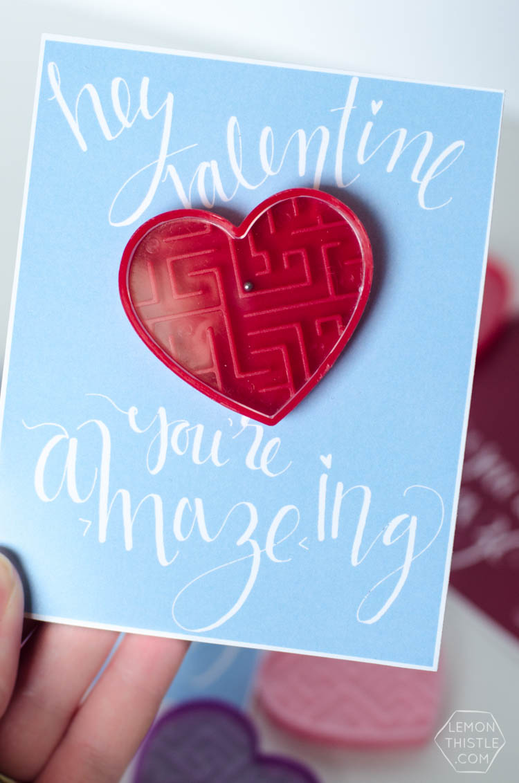 Hey, Valentine! You're A-Maze-ing... Fun Free Printable!