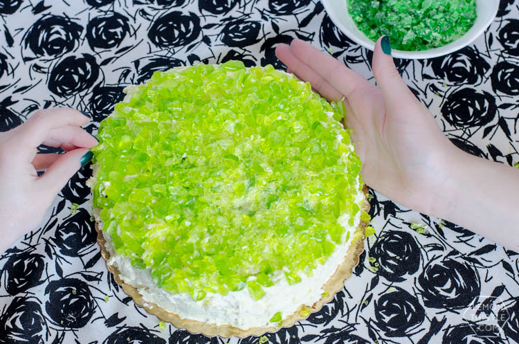 DIY Candy Coated Grocery Store Cake Makeover