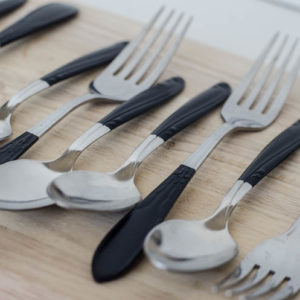 DIY Paint Dipped Silverware (That You can Actually Wash!)