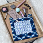 DIY Exposed Zipper Pouch (from tea towels!)