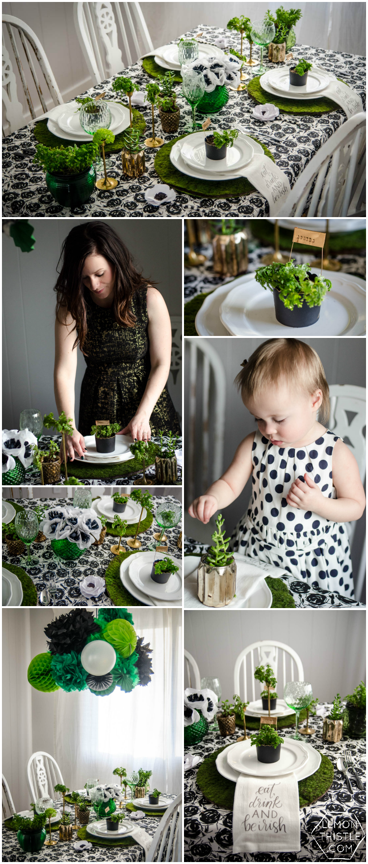 DIY your way to a classy Saint Patrick's Day Party!