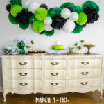DIY a Classy Saint Patrick's Day Party! (Giant Honeycomb Garland)