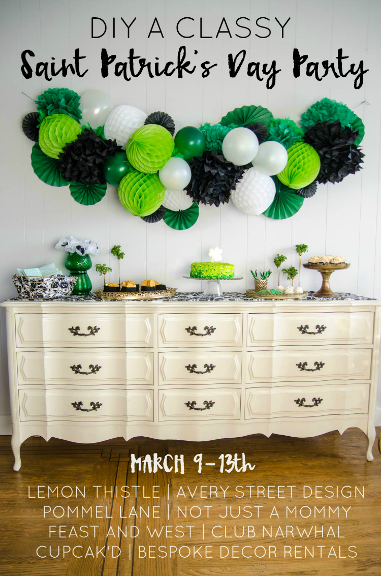 Diy Your Way To A Cly Saint Patrick S Day Party