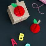 DIY Mini Honeycomb Apples