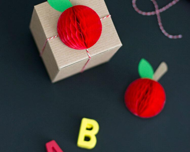 Mini Honeycomb Apples for Teacher Appreciation Week   like-the-cheese.com for Lemon Thistle