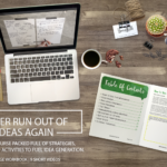 Never Run Out of Ideas Again- Mini E-Course Launch!