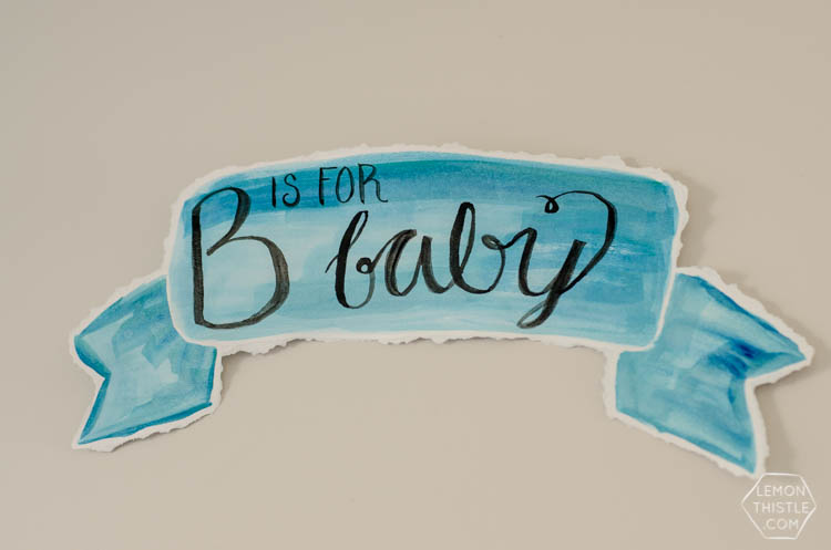 Painting Party Baby Shower and ABC Baby Book