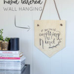DIY Birch Plywood Wall Hanging