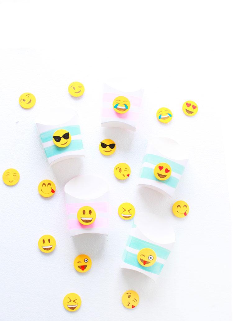 Diy Emoji Snack Boxes Lemon Thistle