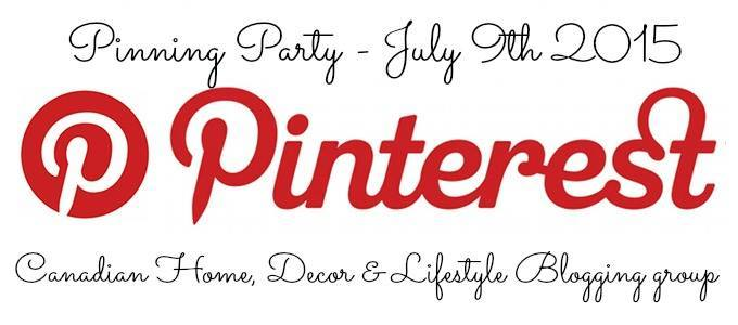 Canadian DIY blogger Pinterest Party