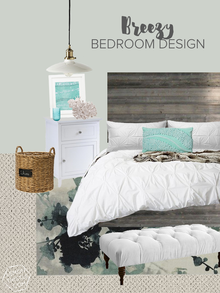 A Breezy Bedroom Design