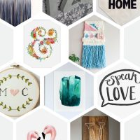 Gift Ideas for their Walls- Something awesome for their wedding shower (and every one comes in under $60!)