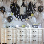 Miss to Mrs Black and White Boho Party