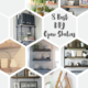 8 Best DIY Open Shelves