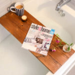 DIY Wooden Bath Caddy