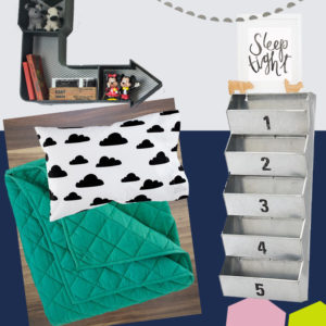 Big Kids Bedroom Moodboard! Gender neutral for boy girl twin toddlers
