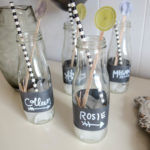 2 Minute Chalkboard Wrapped Drink Jars