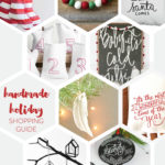 Handmade Holiday Decor Shopping Guide (Giveaway!)