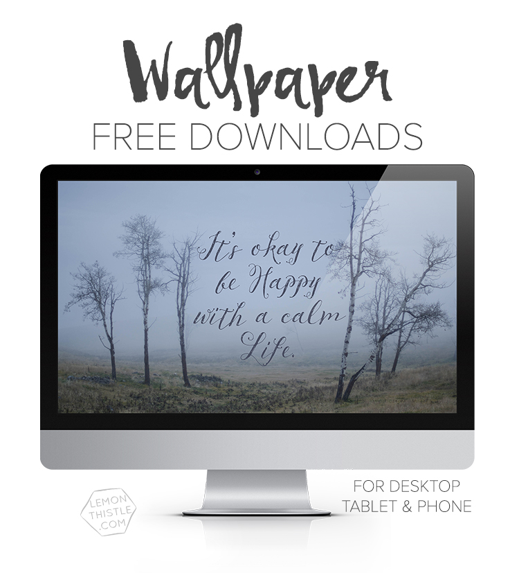Free Tech Wallpaper for Iphone Tablet and Desktop in Calendar, Script and quote options! Such fun backgrounds