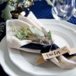 Navy and Neutrals Dinner Party
