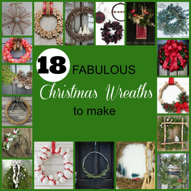 Holiday Wreaths to DIY- I love the variety!