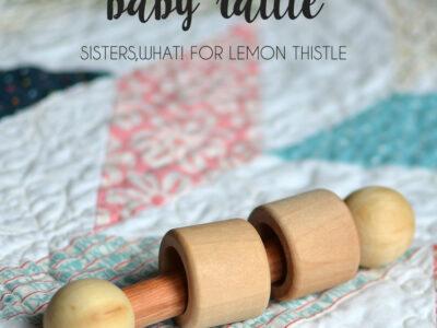 DIY Wood Baby Rattle