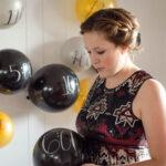 NYE Balloon Memory Wall