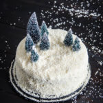 DIY Winter Scene Cake Makeover