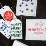 Hand Lettered Holiday Cards & Tags