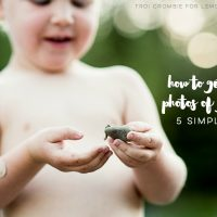 5 Tips to Help you take better photos of your kids- awesome advice!