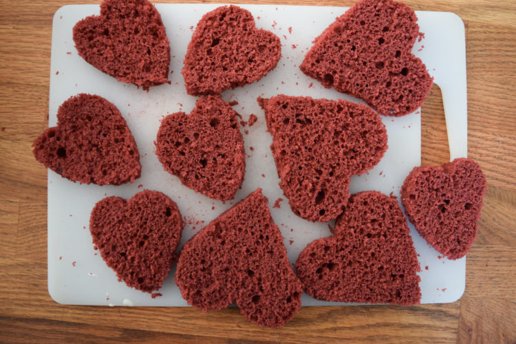 Red Velvet Whoopee Pies- perfect for valentines day!!