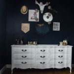 Moody Bedroom Update and Chalk Paint Dressers
