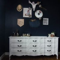 Moody Boho Bedroom Update (and chalk spraypainted dressers!)