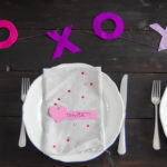 Over Here- DIY Valentine's Day Place Cards
