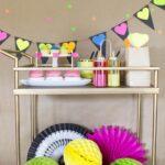 DIY Neon Valentine's Day Party