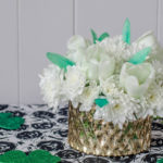 Saint Patricks Day Floral Centrepiece